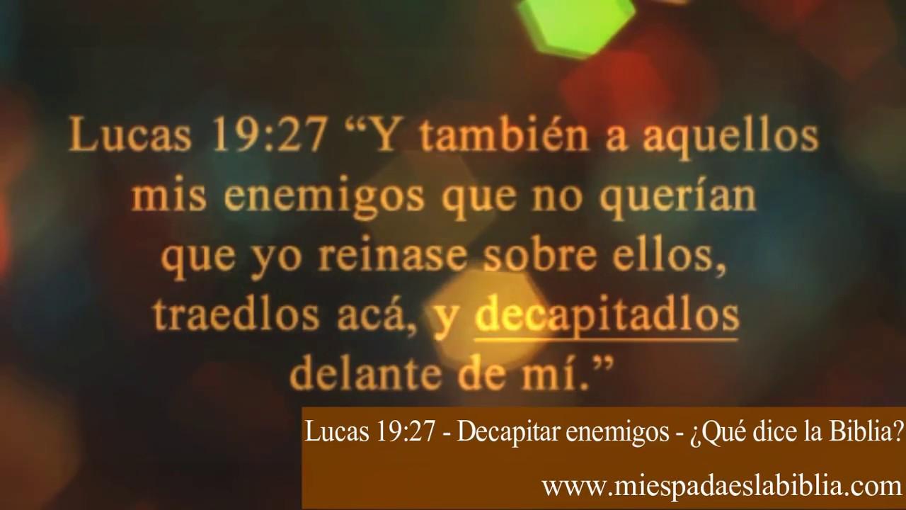 Lukas 19 27