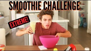 Gross Smoothie Challenge! | Brent Rivera