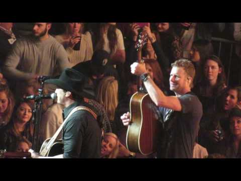 Dierks Bentley and Jon Pardi Carrying Your Love With Me -  Nashville, TN 1/21/17
