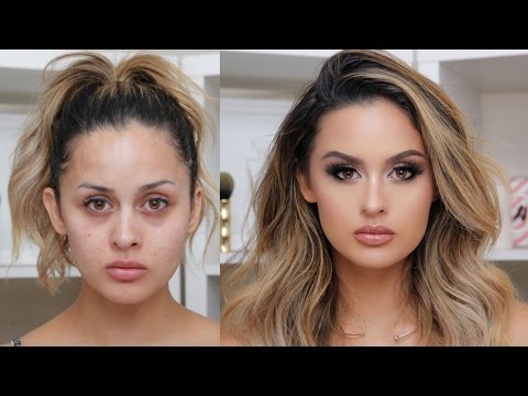 FULL COVERAGE GLAM MAKEUP TUTORIAL streaming vf