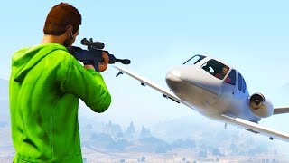 SNIPERS VS JETS #2 (GTA 5 Funny Moments)