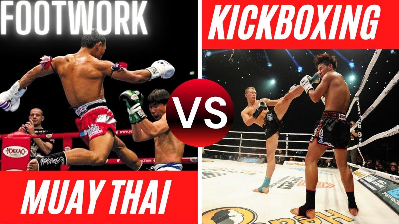 Muay Thai vs Kickboxing Stance & Footwork | For Beginners