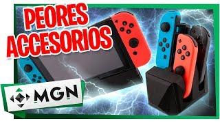 10 Accesorios Inútiles y que NO Necesitas en tu Nintendo Switch (2019) | MGN