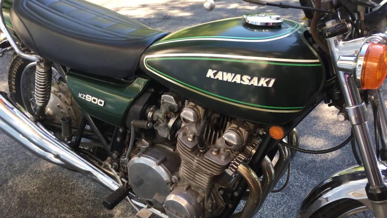 Original 1976 Kawasaki KZ900