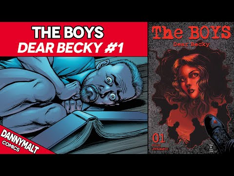 The Boys – Dear Becky #1 (2020) – Comic Story & Review