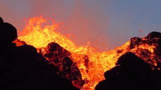 Piton de la Fournaise - Kalla et Pélé - Réunion 2015 - Vidéo 14 sur 15
