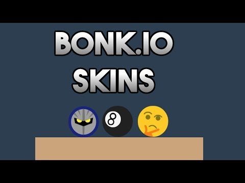 Bonk io MORE SKINS - Meta Knight, Thinking Emoji & More