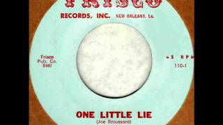One Little Lie by Danny White on MONO 1963 Frisco 45.