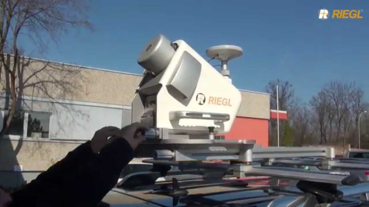 The new RIEGL VMQ-450 Single Scanner Mobile Mapping System