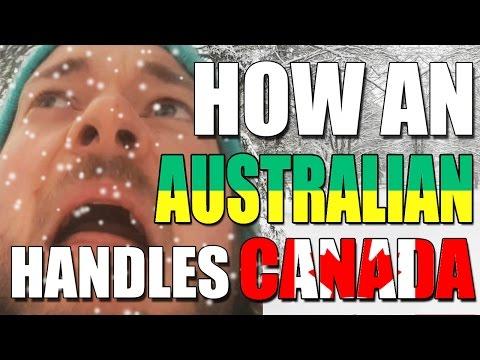 Australian V Canada: How An Australian Handles SNOW