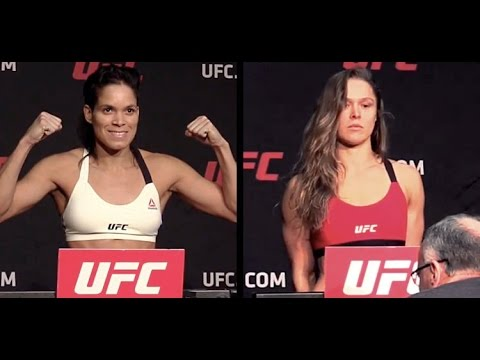 Thumbnail: Ronda Rousey vs Amanda Nunes - UFC 207 Official Weigh-in