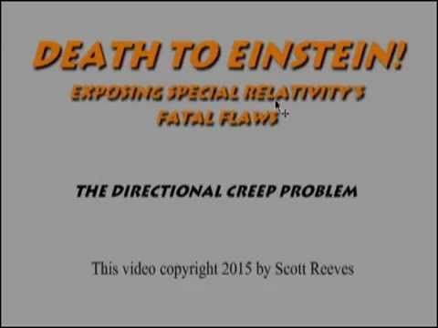 Death to Einstein! - The directional creep problem of special relativity