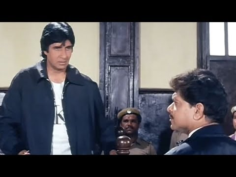 Watch Amitabh Bachhan's attitude in court...