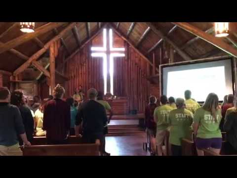 Staff Training 2018 Commissioning Service - Open the Eyes of My Heart