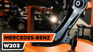 Údržba Mercedes W203 - video tutoriál