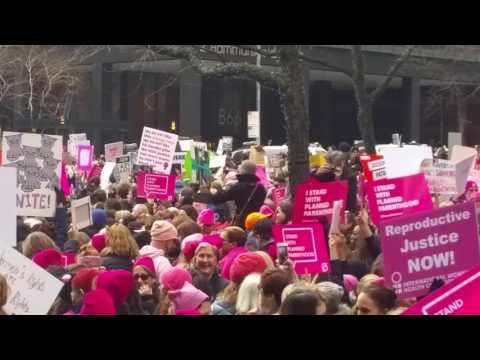Women's March Against Trump - NYC - Part 1