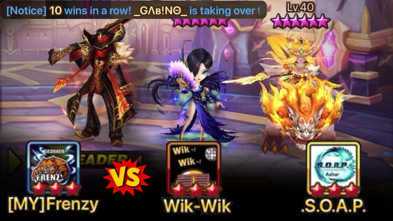 Download Beating the BEST META NB5 Defense of the Month vs Wik-Wik & .S.O.A.P. - Summoners War