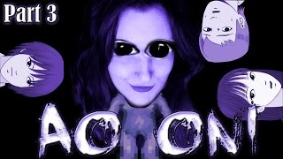 Ao Oni - Part 3 - Love Leaving My Friends For Dead (RPG Maker Horror)