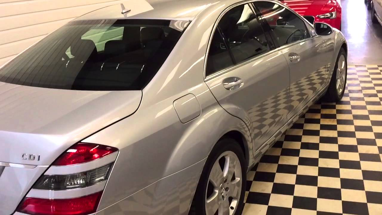 mercedes benz s used luxury detail class sedan