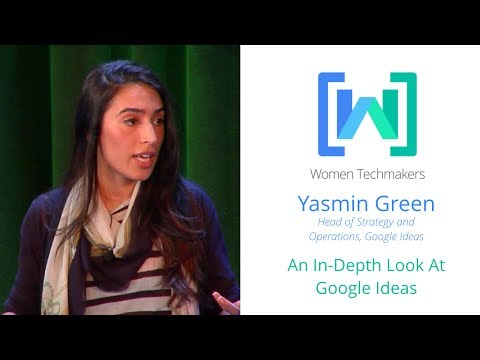 Women Techmakers Summit: NY - An In-Depth Look at Google Ideas featuring Yasmin Green