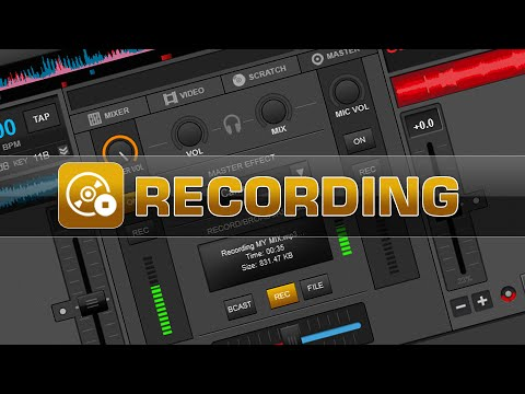 Recording Overview - VirtualDJ 8
