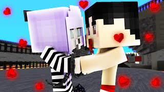 Minecraft - WHO'S YOUR MOMMY? - BABY KISSES PRISONER!