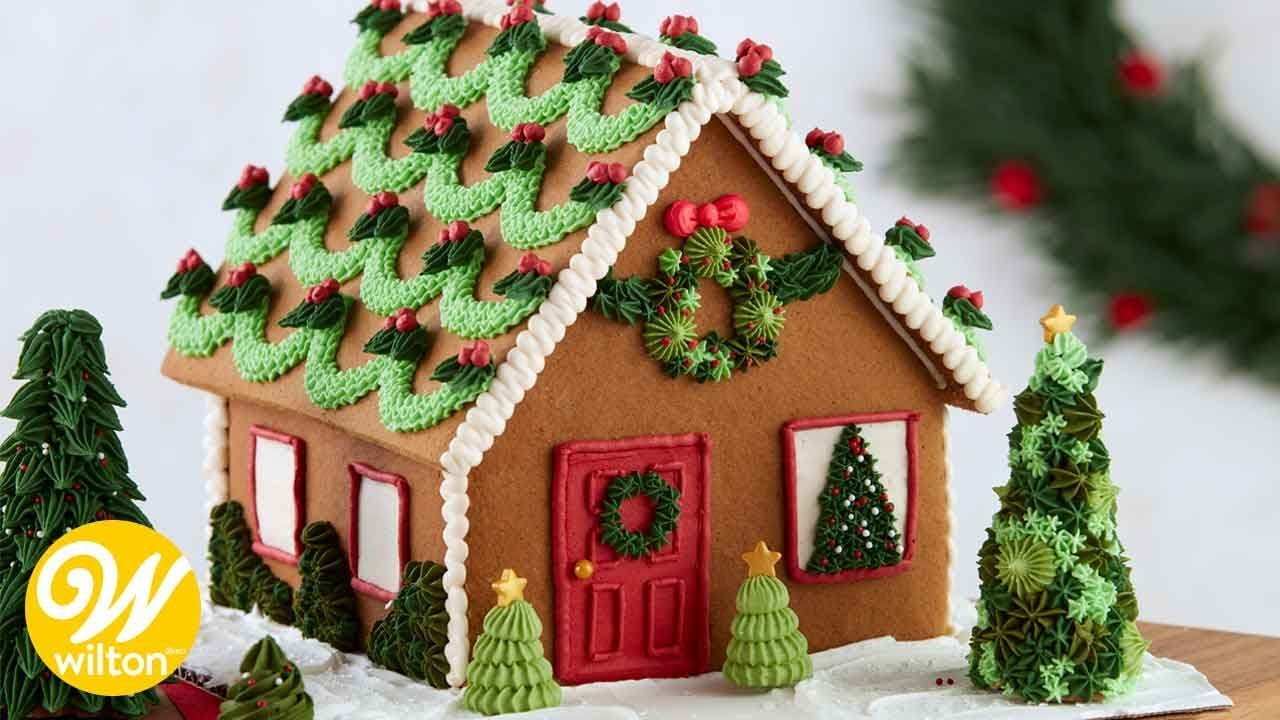 Easy Gingerbread House Decorating Techniques Wilton