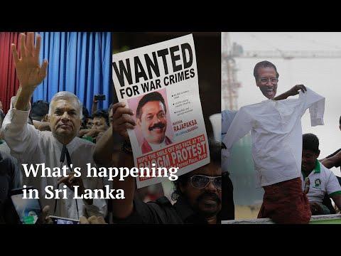 Political crisis in Sri Lanka
