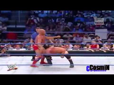 Brock Lesnar vs Kurt Angle Highlights HD - Iron Man Match