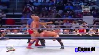 Brock Lesnar vs Kurt Angle Highlights HD - Iron Man Match