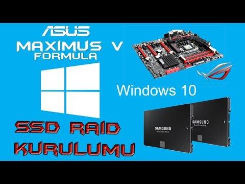 SSD RAID Kurulumu Nasıl Yapılır ?
