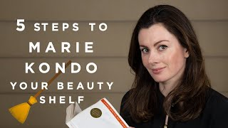 5 Steps to 'Marie Kondo' Your Beauty Shelf  | Dr Sam Bunting thumbnail