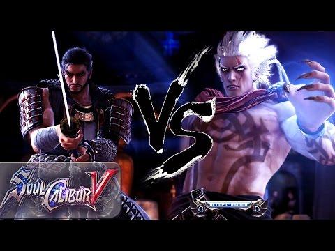 Soul Calibur V: Dr. Pepper FTW (Mitsurugi) Vs HateBot 9000 (Algol) XBL HD