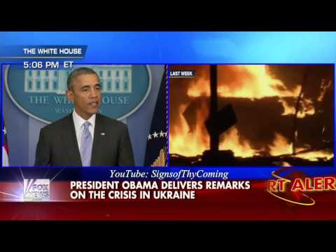 The Beast : Obama warns there will be Costs to any Military interventions in Ukraine (Feb 28, 2014)