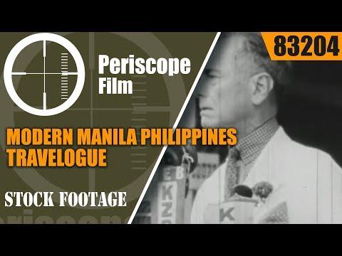 MODERN MANILA   PHILIPPINES TRAVELOGUE  83204