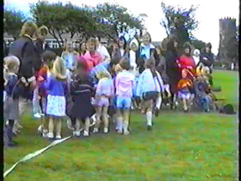 St Peter's School sports day 1990