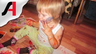 Как научить ребенка рисовать?  Учим рисовать красками. Развитие ребенка.(Как научить ребенка рисовать? Наверно, в каждой семье мама и папа задаются этим вопросом. Ведь все родители..., 2016-01-15T07:00:12.000Z)