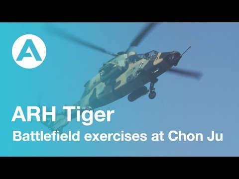 ARH Tiger - Battlefield exercises at Chon Ju