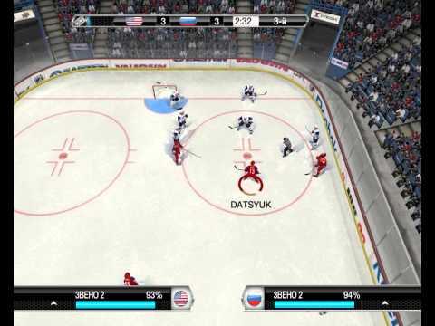 NHL 09 PC Россия - США
