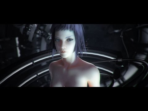 3D 8K 360 VR Кибер панк - Ghost in the Shell