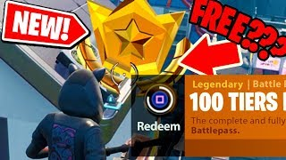 NEW! How to get the FULL SEASON 9 BATTLE PASS for FREE in Fortnite: Battle Royale *NEW* 100 TIERS