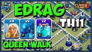 NEW EDRAG ATTACK! TOWN HALL 11 ATTACK STRATEGY | TH11 | CLASH OF CLANS