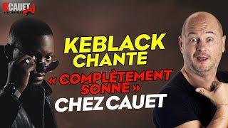 Keblack chante «Complètement Sonné» chez Cauet sur NRJ