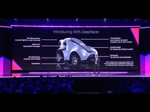 AWS re:Invent 2018 – Announcing AWS DeepRacer