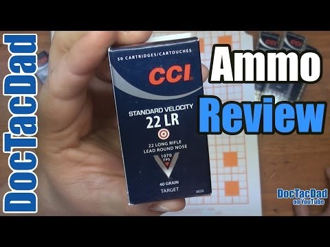 CCI Standard Velocity .22LR - Ammo Review