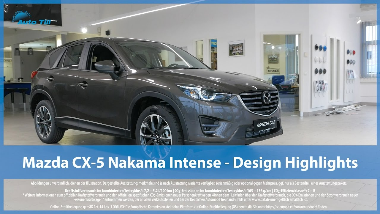 mazda cx 5 nakama intense design highlights 4k uhd. Black Bedroom Furniture Sets. Home Design Ideas