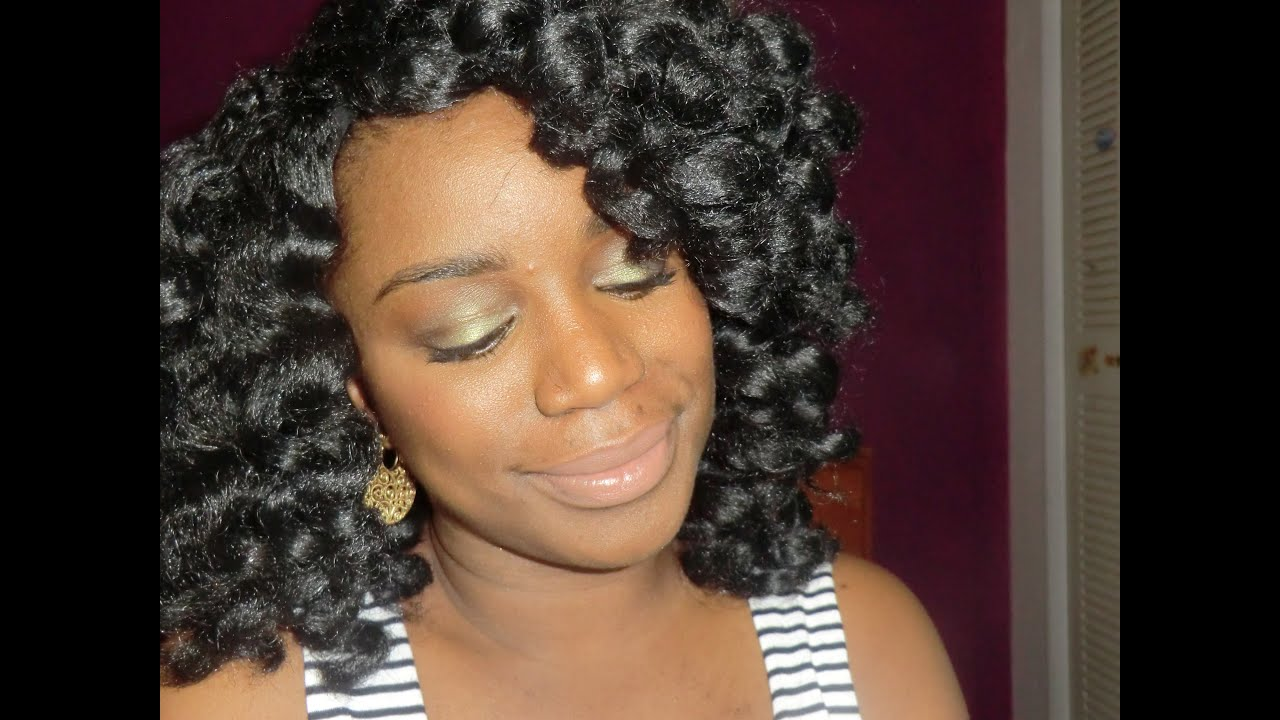 Crochet Braids Vs Wigs : Marley Hair Crochet Wig - YouTube