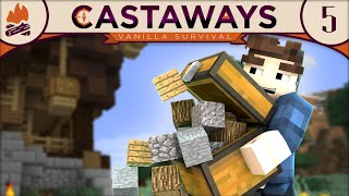 Minecraft | Castaways SMP - Episode 5 :: MOVING IN!