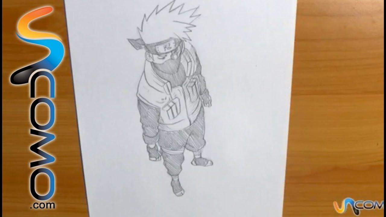 Dibujos Para Colorear De Kakashi: Dibujar A Kakashi De Naruto