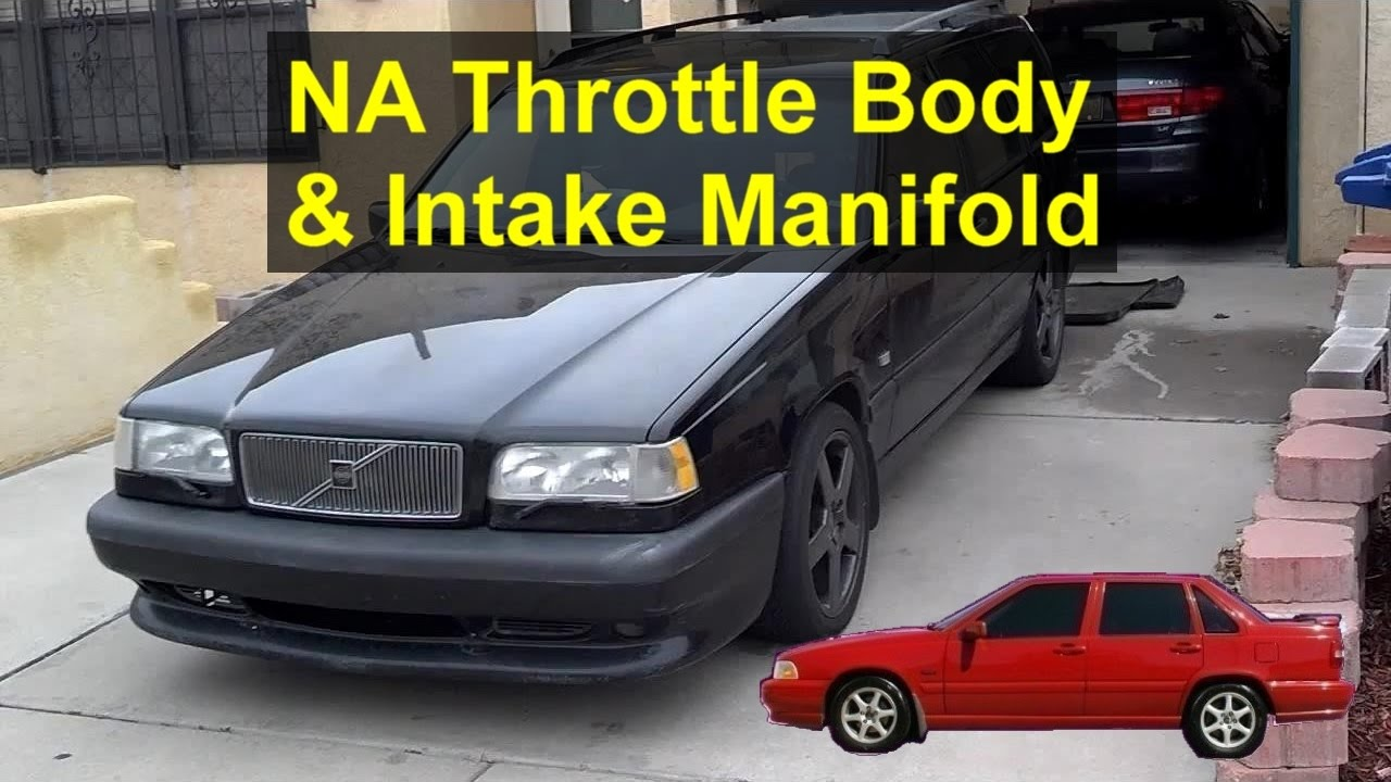 Turbo to NA throttle body mod upgrade for Volvo 850, S70, V70 cars from  1994 to 1998 - REMIX